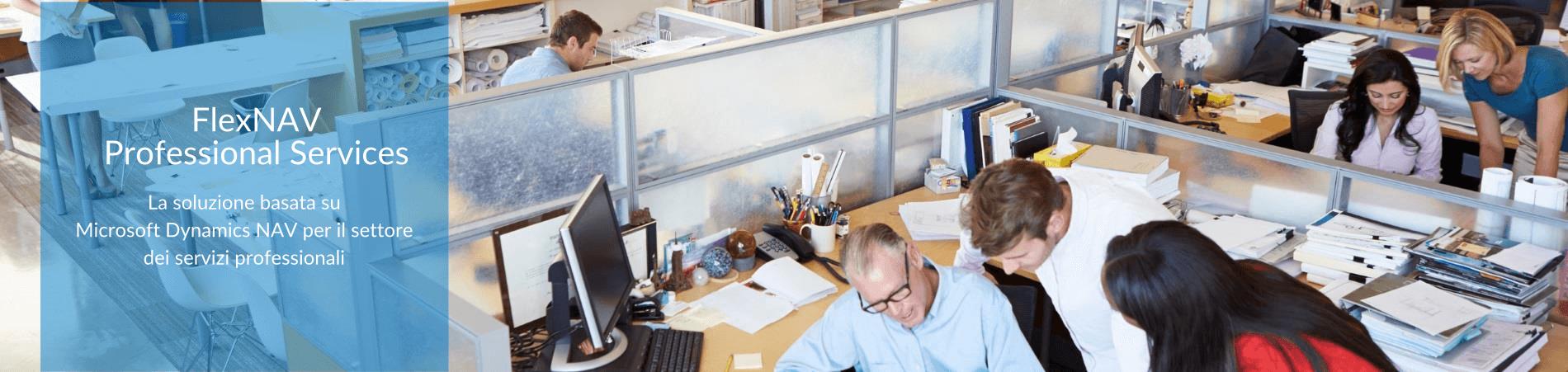 flexnav microsoft dynamics nav settore servizi professionali