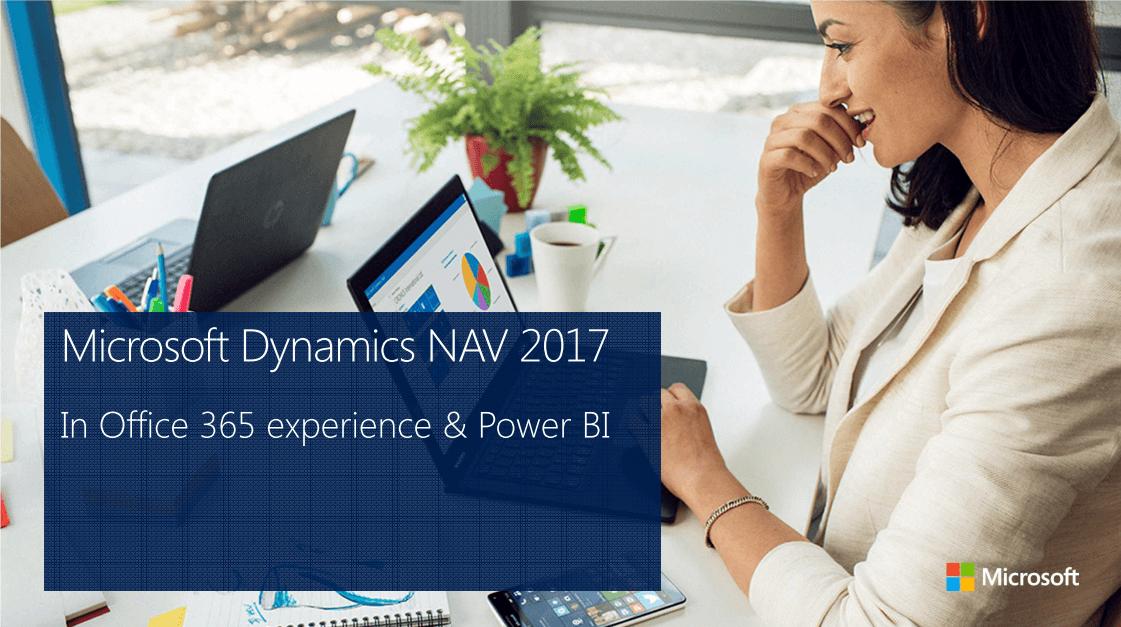 microsoft dynamics nav 2017 integrazione office365 e powerbi