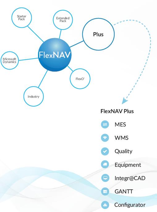 FlexNAV piattaforma FlexNAV Plus