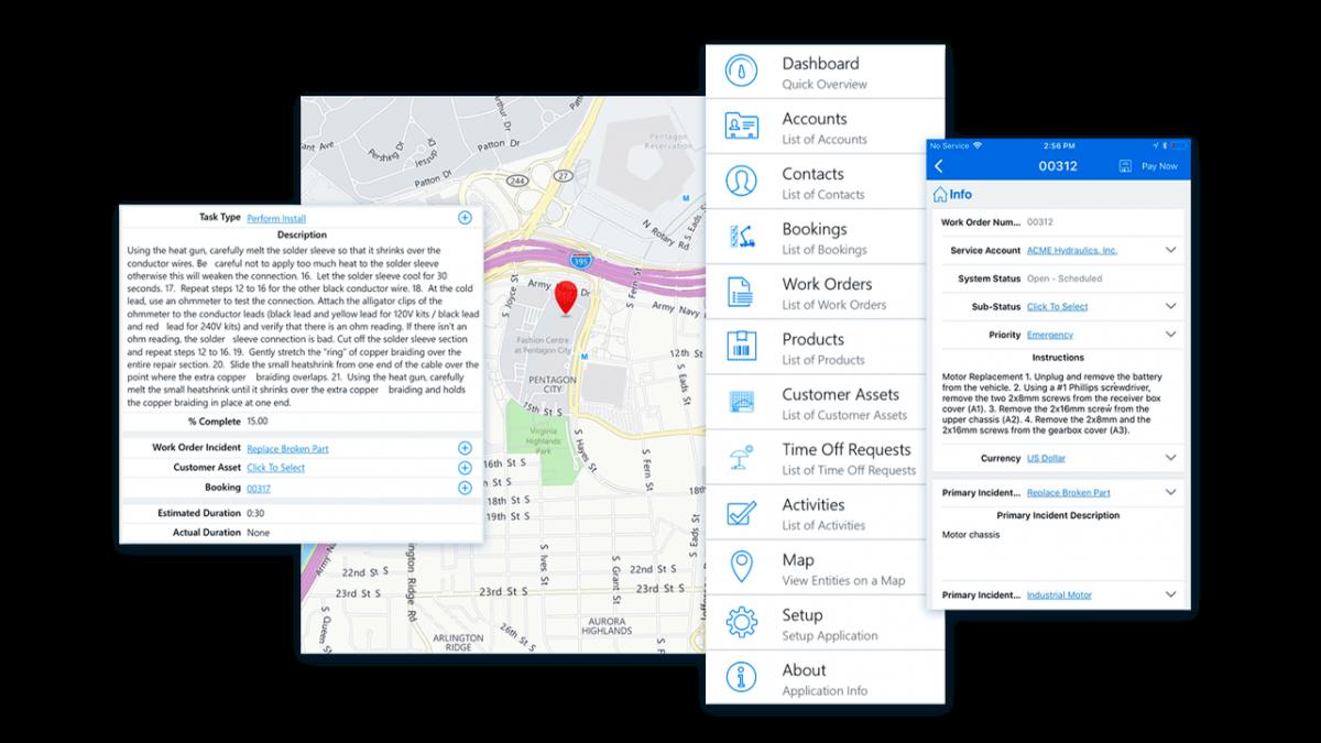 dynamics 365 field service app