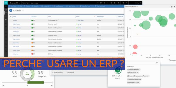 perché introdurre ERP in azienda